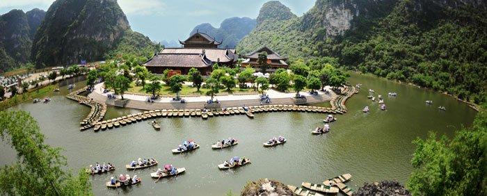 Bai Dinh - Trang An - Camellia Hotel - Ninh Binh - Vietnam